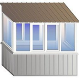 Крыши над балконами