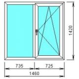 Окна ПВХ по сериям домов