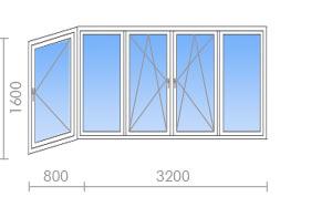 Остекление балконов и лоджий - окна-строй санкт-петербург.